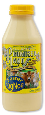 Easter Egg Nog from Promised Land Dairy