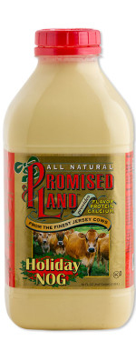 Bottle image of Holiday Nog from Promised Land Dairy