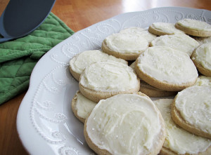 Egg Nog Ice Box Cookies Recipe Photo Promised Land Dairy