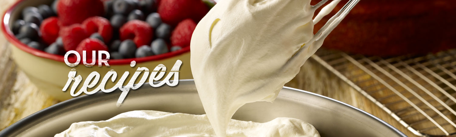 Recipe Banner Art Promised Land Dairy