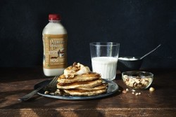 Holiday Nog Spice Pancakes