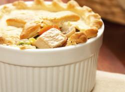 Chicken Pot Pie Recipe Stock Art Promised Land Dairy